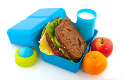 Healthy Lunchbox On Display